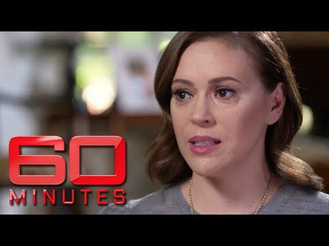 Alyssa Milano says Donald Trump had to be elected for MeToo to take place  60 Minutes Australia
