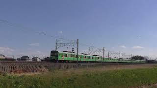東武50050系51059F(マサオくん)幸手~南栗橋通過