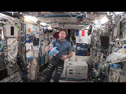 Une surprise venue d'ailleurs... depuis l'ISS...?