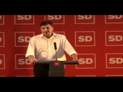 Borut Pahor - poslovilni govor po volitvah za predsednika SD