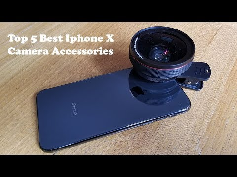 best loved 988a0 14f0a Top 5 Best Iphone X Camera Accessories - Fliptroniks.com