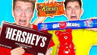 SOUREST GIANT CANDY IN THE WORLD CHALLENGE!!! Warheads Toxic Waste (EXTREMELY SOUR DIY EDIBLE FOOD) thumbnail