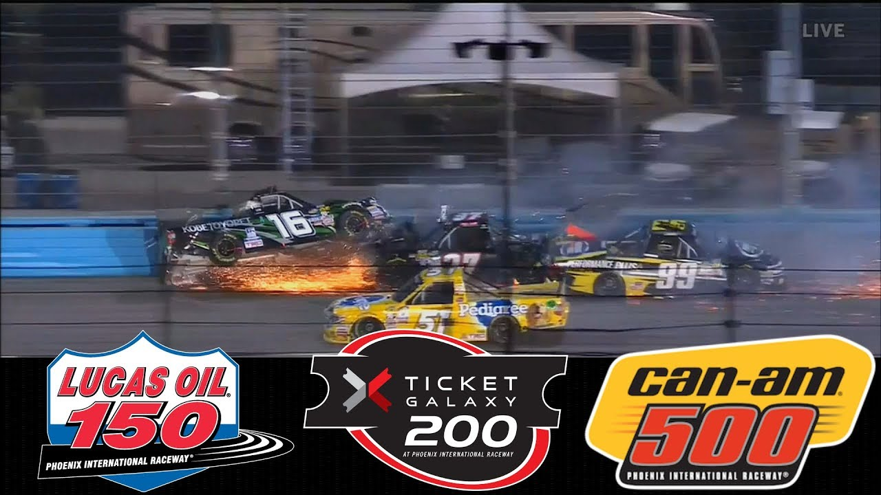 2017 nascar highlights lucas oil 150 ticket galaxy 200 can am rh youtube com