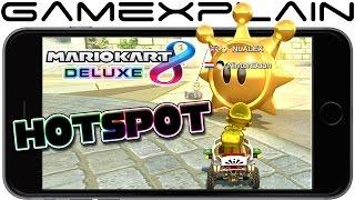 Testing Mario Kart 8 Deluxe Online via Mobile Hotspot + Data Usage (Phone Tethering)