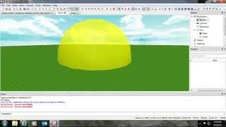 ROBLOX: How To Make A Nuke Tutorial!