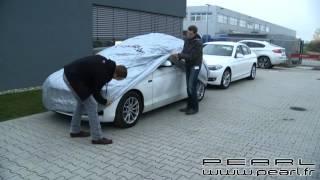 pour Opel Astra 5P Housse DE Voiture IMPERM/ÉABLE Toile en Nylon B/ÂCHE Taille L 482X196X120CM Couverture Anti-Rayures Universelle
