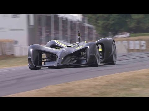 Autonomous car conquers Goodwood Festival race track
