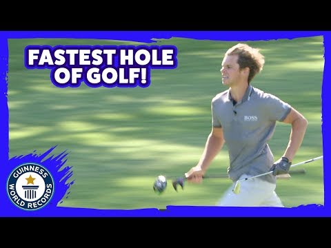 Fastest Hole of Golf - Guinness World Records
