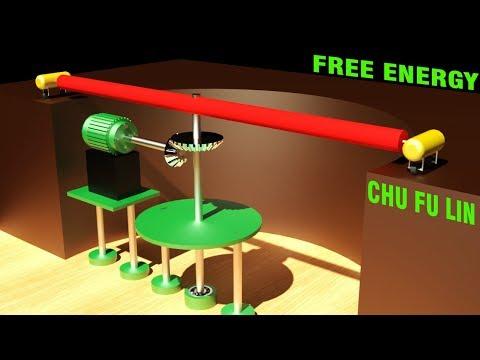 FREE ENERGY, Chu Fu Lin Centrifugal electricity generation system