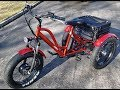 Daymak Florence Fat Tire E-Bike (Tricycle)