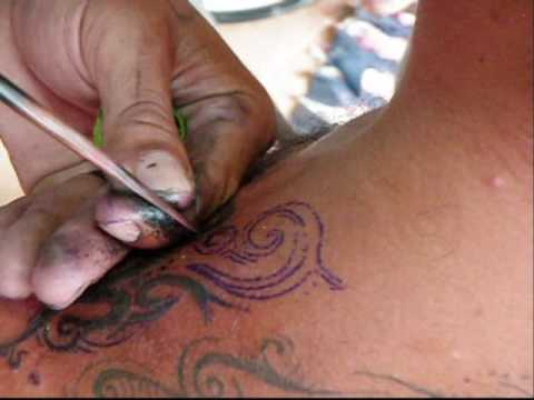 Bamboo Tattoo Koh Samui Thailand 2009 Youtube