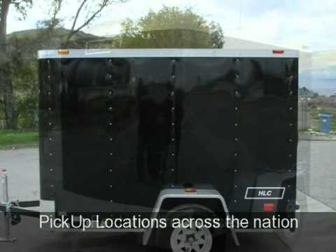 5x8 Enclosed Trailer Ebay / 877-292-4451 / Yucaipa Trailers