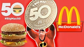 Mcdonalds Incredible 50 Years BIGMAC Celebration 50,000 MACCOIN U003d BIGMAC  FREE