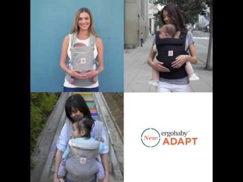 Newborn Baby Carrier Adapt Ergobaby Youtube