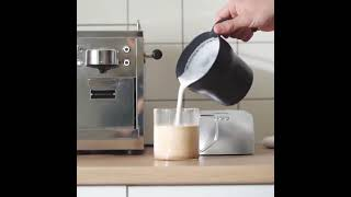 홈카페 우유 거품기 스팀기 온냉 라떼 자동 가정용 업소…