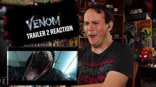 VENOM - Official Trailer 2 REACTION