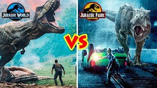 JURASSIC WORLD VS JURASSIC PARK, Which is better?