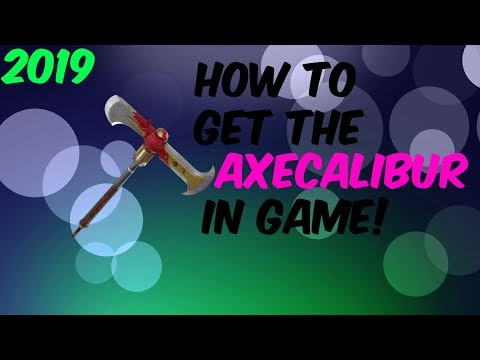 How To Get The AXECALIBUR PICKAXE In Fortnite FOR FREE *new*