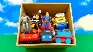 Best Toy Box ☺️ खिलौने का संदूक, पेप्पा सुअर, कार्टून बच्चे, मिकी माउस