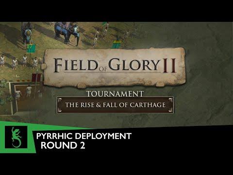 Field of Glory II - Tournament, Round 2 (Pyrrhic Deployment) | Carthaginian vs. Pyrrhic Battle |