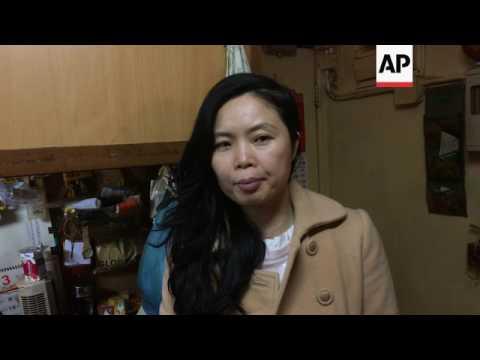 Hong Kong housing boom leaves many struggling