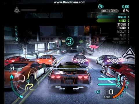 Need For Speed Carbon - Chevrolet Corvette Z06 Master Level