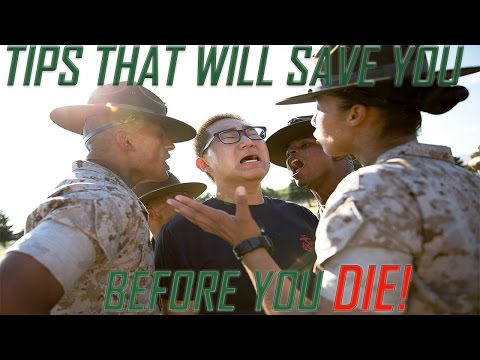 Tips To Survive USMC Boot Camp
