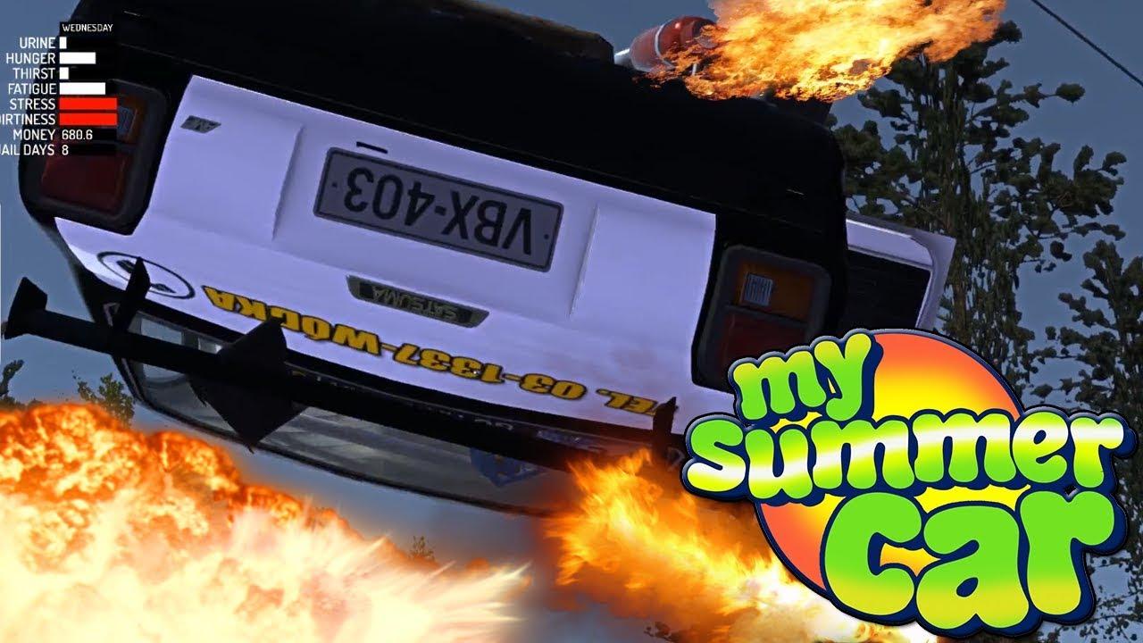 DZIAŁA, JEŹDZI, LATA – SUKCES ! ! ! – My Summer Car #81