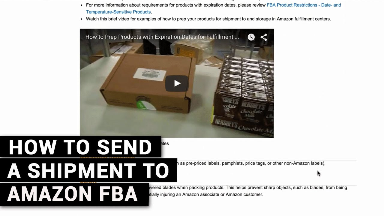 410f69797f683 How To Send A Shipment To Amazon FBA