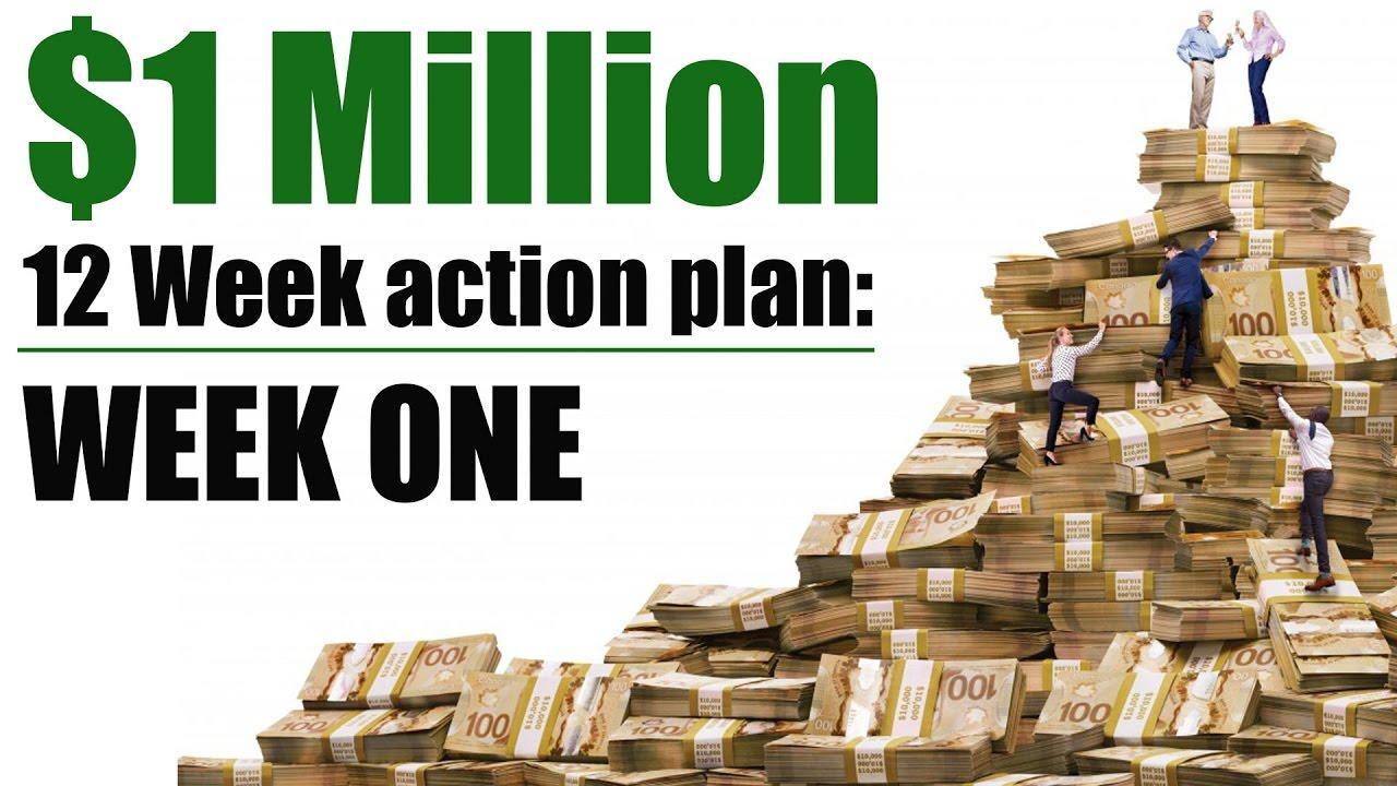 Million Dollar Portfolio - Week 1 - Investing for beginners