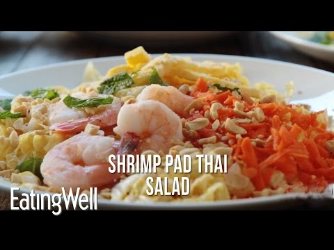 How to Make Shrimp Pad Thai Salad