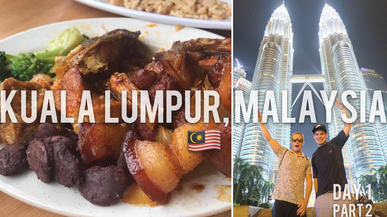 3 Days in KL Ep.2 ?? Jalan Alor Food Street & Amazing Kuala Lumpur Tower View, Top Things to do