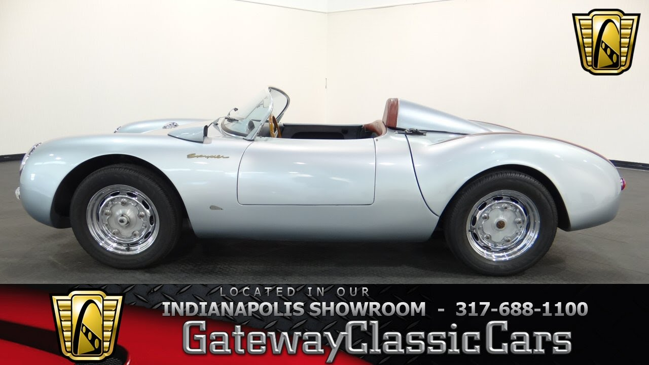 1955 Porsche 550 Spyder Replica Gateway Classic Cars Indianapolis 426 Ndy Youtube