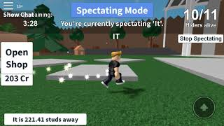 Best hiding spot in The Backyard (Hide and Seek extreme, ROBLOX)