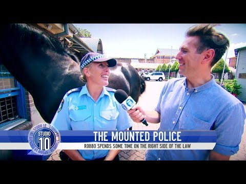 Meet The New South Wales Mounted Police | Studio 10