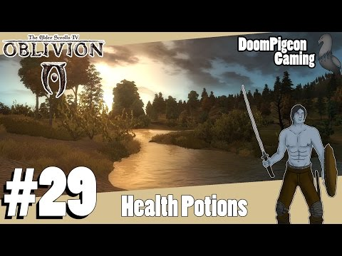 Oblivion how to make strong healing potion