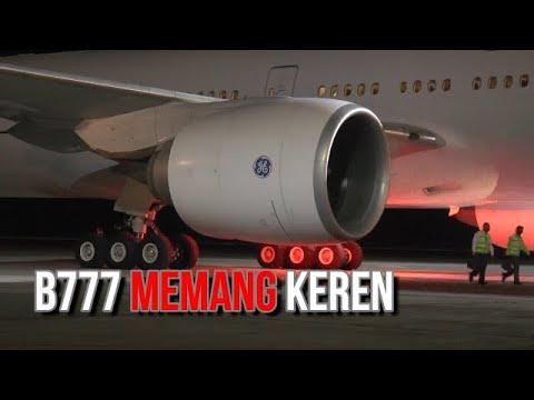 Mengenal Lebih Dekat B777 300ER Di Bandara YIA Jogja