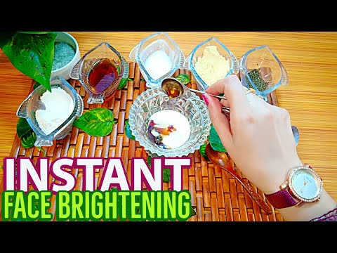 """skin-brightening-""""face-pack""""-for-instant-whitening-&-instant-glow-(naturally-at-home)"""