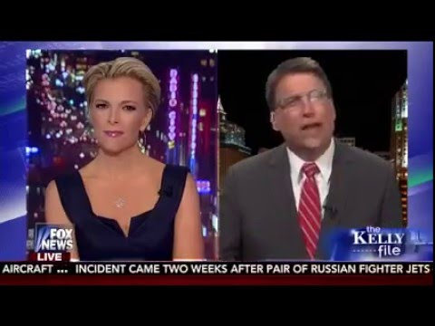 Gov. McCrory joins Megyn Kelly in an Exclusive Interview on The Kelly File