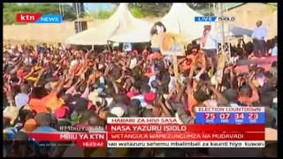 Raila Odinga explains why Hassan Joho did not show up for the rally in Isiolo