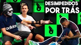 Batem muito no Neymar ou ele prende a bola até baterem?