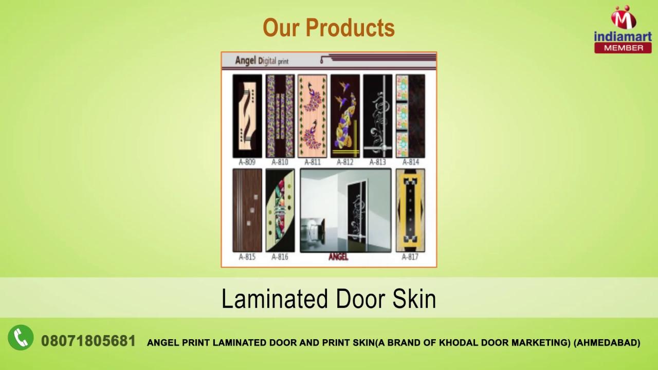 Door Laminates And Sheets By Angel Print Laminated Door And Print Skin