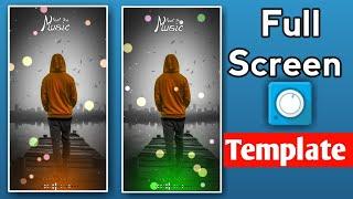 Full Screen Avee Player Template | Full Screen Avee Player Template Download Link | Avee Player edit