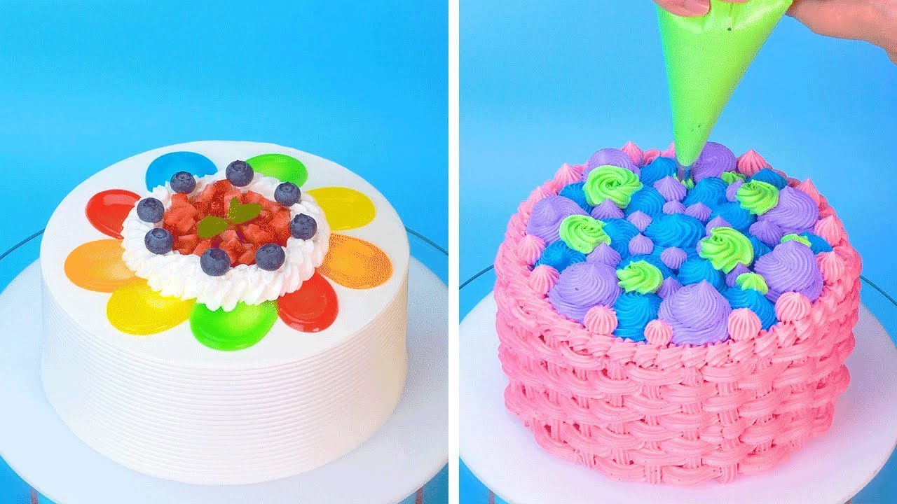 Amazing Cake Decorating Ideas | Most Satisfying Chocolate Cake Decorating Tutorials | So Easy