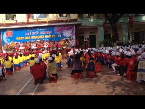 Liên khúc Chắp cánh ước mơ - Lớp 3D trường Tiểu học Nguyễn Trãi Hà Đông