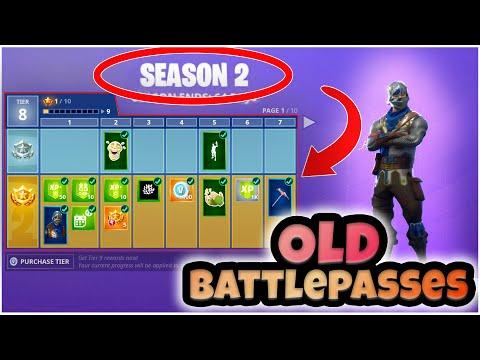 How to get back *OLD* Battle Passes (Season 2,3,4,5,6) Season 8 Method