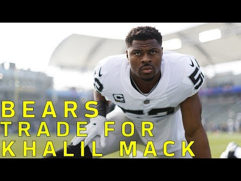 Khalil Mack TRADED to Bears | NFL
