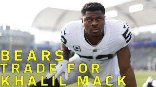 Khalil Mack TRADED to Bears   NFL