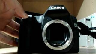 Canon 50D shutter sound and speed