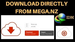 How To Download Files Directly From MEGA.NZ